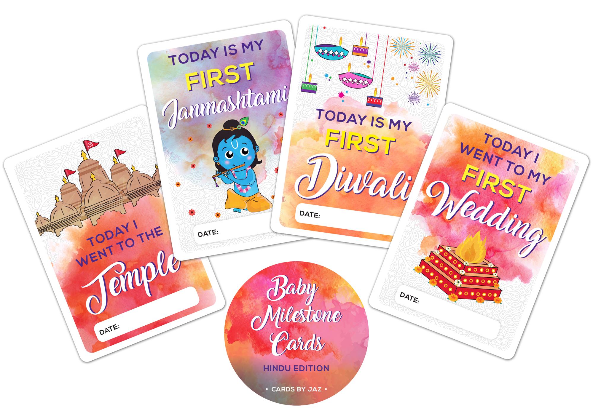 Baby Milestone Cards /& Keepsake Box// New Baby Baby shower Gift New Mum
